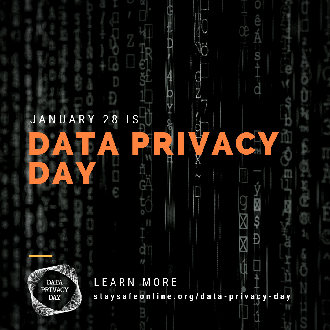 To learn more about Data Privacy Day and how to stay safe online click on the image.