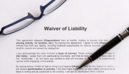 waiver of liability